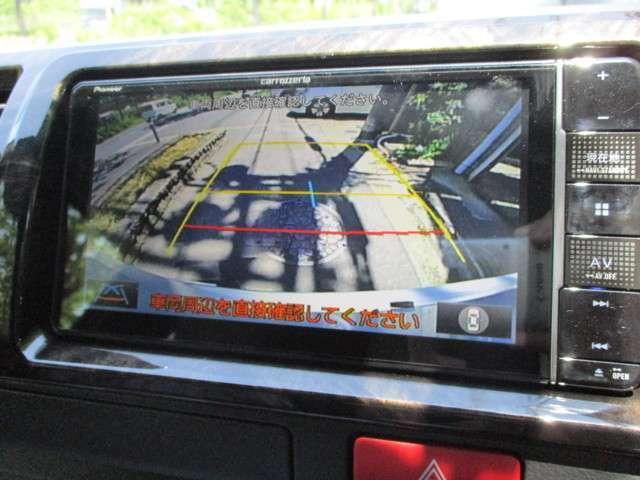 データシステム変換キット付属のスイッチにてバックカメラ映像拡大表示が可能です!駐車時にも安心ですね♪