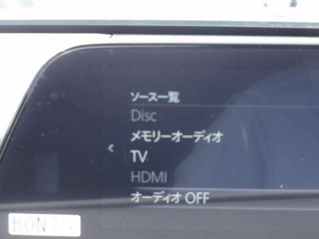 地デジ/DVD/CD/FM/AMラジオ装備で見た目もすっきり☆