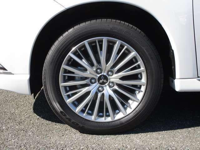 225/55R18 純正アルミホイール スタットレスタイヤは16インチもお薦めです