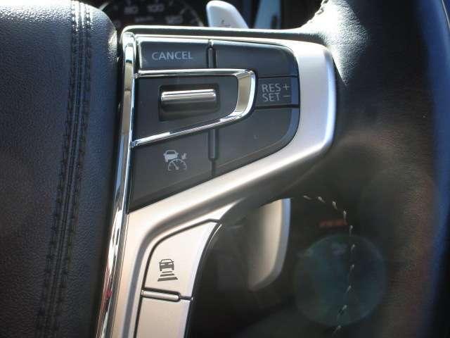 レーザークルーズコントロールシステム 前方車両と距離を感知しスピードを自動コントロール