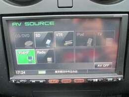 機能充実!ワンセグTV、DVD再生可能です!