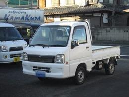 スバル サンバートラック 660 TC 三方開 4WD 5速 エアコン パワステ