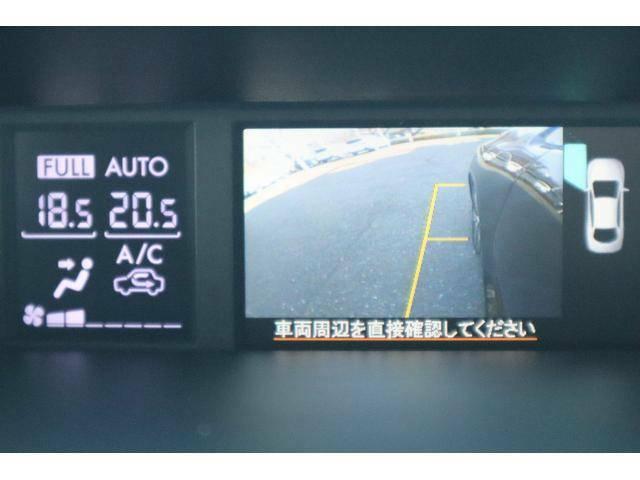 左ドアミラーにカメラが付いて、左フロントタイヤ周辺をモニターで確認出来ます