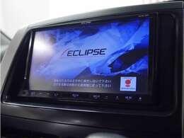 「カーナビ」 イクリプスナビ付きで知らない土地のドライブも安心!CD、DVD、TVも楽しめます♪