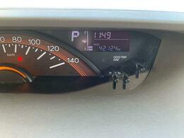 走行距離は、42124km