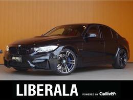BMW M3セダン M DCT ドライブロジック 衝突軽減B LDW 赤革 HUD 純ナビTV 純正19AW