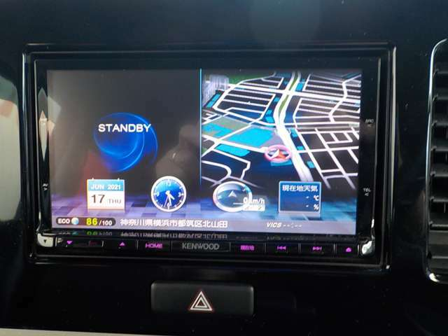 ケンウッドMDV-X701メモリーナビゲーションシステム