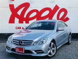 メルセデス・ベンツ Eクラスクーペ E250 ブルーエフィシェンシー ユーザー買取車 純正HDDナビ ETC
