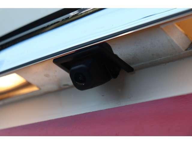 ●安心のバックカメラ装着済み♪車庫入れが苦手な方も、安心・安全に後方確認・車庫入れができますネ♪