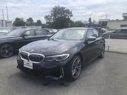 BMW 3シリーズ M340i xドライブ 4WD ACC・被害軽減ブレーキ・白レザーシート