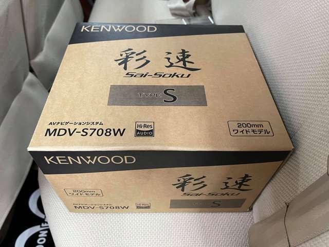 新品ケンウッド・最彩メモリーナビ・地デジフルセグ・ETC装着!お好みでBカメラやドライブレコーダー等も別途取付可能!