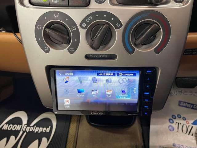 新品ケンウッド・彩速メモリーナビ・地デジフルセグ・ETC装着!お好みでBカメラやドライブレコーダー等も別途取付可能!