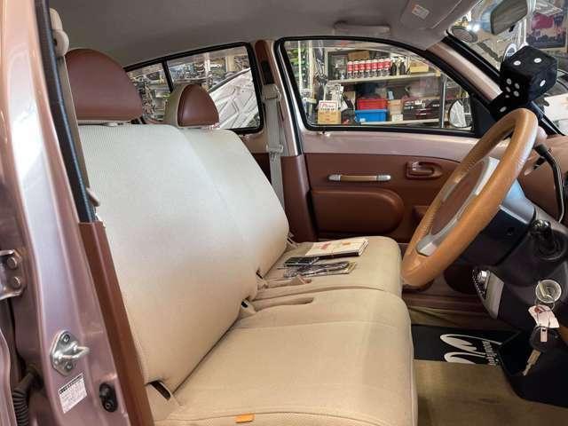 フロントシート綺麗です!純正シートカバー有ります!