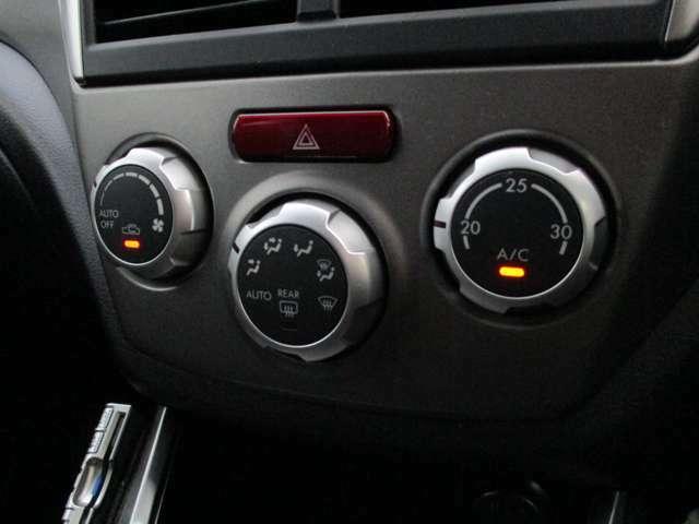 エアコンも操作性に優れたダイヤル式です。冷風もキンキンに冷えますので、夏場のドライブも快適です★