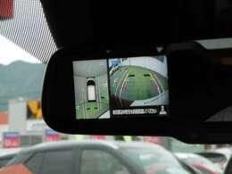 見えにくい所も全周囲カメラでバッチリ!!せまい道や駐車時のお助け機能♪♪