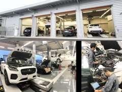 日本最大級の自社整備工場を横浜市鶴見区に構えております。