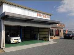 整備工場完備しております。車検・一般整備・タイヤ・オイル交換はぜひベアーズにお任せを!!無料代車あります。