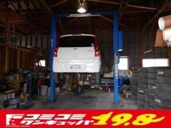 広々とした整備場も完備しております。納車時にはしっかりと点検整備し、安心の中古車をお届け致します(^^♪