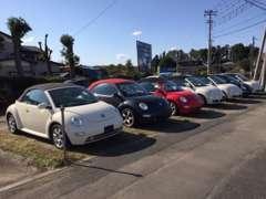 当店は、欧州車を中心に取り扱う中古車プロショップです!特に、ニュービートルには自信がございます!