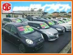 当店は注文販売も受付!展示車以外の車でも独自のネットワークであなたの1台お探しします!低価格・良品質に自信アリ!!