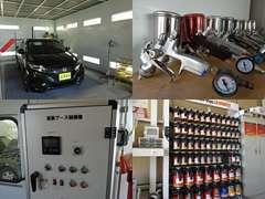 三井住友海上保険取扱店/万が一の事故のときも自社工場にて修理協定まで責任を持って対応させていただいています