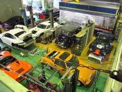 ◆事故修理、板金塗装設備完備。レストア/オールペイント等もご相談下さい。