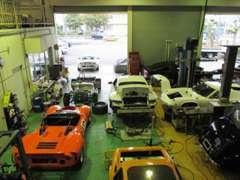 ◆車検整備、認証工場完備。エンジン組み立て設備も用意しています。オーバーホール/チューニング等ご相談下さい。