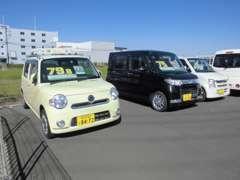☆軽自動車・コンパクト・ワゴン・ミニバン・セダン☆常時、在庫20台以上展示しております!!