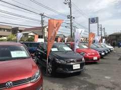 ウエインズインポート横浜が誇る商品化専用工場のクリーニングラインで仕上げた、安心で清潔、高品質なVW認定中古車をご案内。