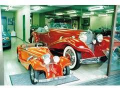 【1935年式 メルセデス・ベンツ 500K スペシャルロードスター】世界総生産台数29台。販売当時の現存数は11台で御座いました。