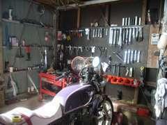 お車だけではなく、バイクの修理等も承っております。お気軽にご相談頂ければと思います♪
