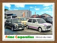 こんにちは!!福岡県古賀市に大型店舗にて、かわいいクルマと、速さ&一体感をあじわえる車を揃えております♪