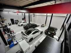 全入庫車両に対して除菌作業をしています。納車前にも再除菌!!