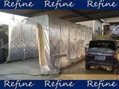 自社板金塗装工場完備!!傷のついた車も自社にてきれいにします♪
