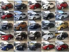 輸入車を中心に色々なお車を納車させて頂いています(一部抜粋)