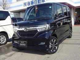 ホンダ N-BOX カスタム 660 G L ホンダセンシング 4WD 両側電動スライドドア 届出済未使用車