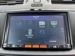 TV・CD・BlueToothオーディオなどさまざまなメディアが使用できます。