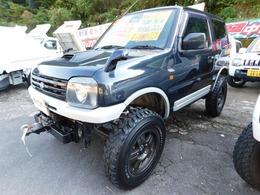 スズキ ジムニー 660 ワイルドウインド 4WD リフトアップ 5速ミッション