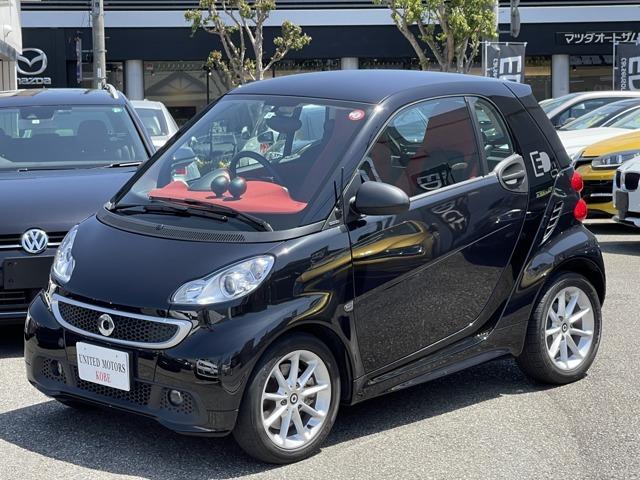 パーソナルモビリティのパイオニアであるスマートの電気自動車「スマートフォーツーエレクトリックドライブ」!