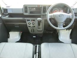 広い車内で、前方左右の見切りがよく運転しやすいお車です☆