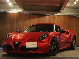 アルファ ロメオ 4C ローンチエディション 世界限定1000台 1オーナー車
