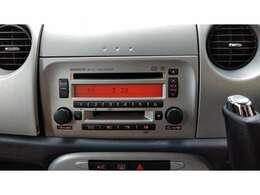 CD、MD付でお好きな音楽を聴きながらドライブ!!