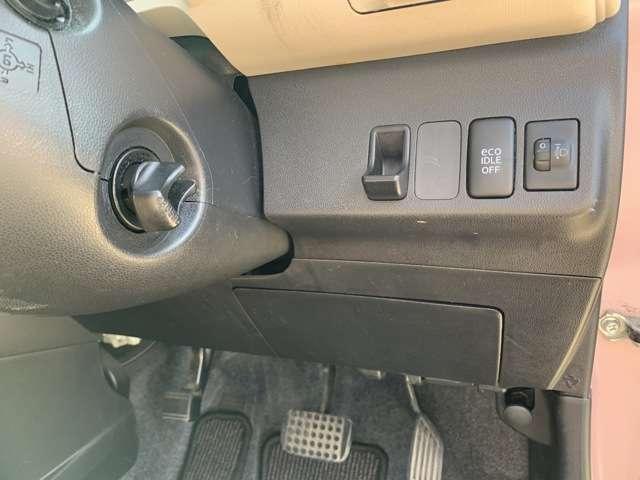 便利で嬉しいスマートKEY付き! キーフリーシステム搭載車両となり、鍵をポケットに入れたままで持っているだけで、出さずにドアの開閉やエンジンスタートができます。 エンジンスタートも簡単な押し回し式です