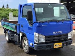 いすゞ エルフ 4WD IC-TB FFローST 2t強化ダンプ