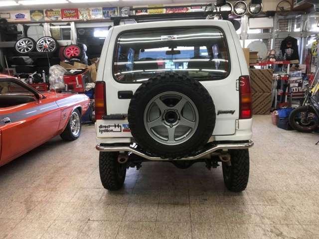 背面タイヤもハセスペック16インチAW+新品ナンカン・NK・4×4WD・M/Tでお揃いにしてます!!(写真撮影後)