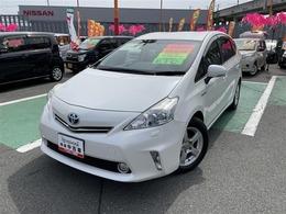 トヨタ プリウスα 1.8 S 1年保証付販売車/走行距離無制限/ナビ/TV付
