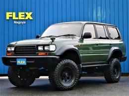 トヨタ ランドクルーザー80 4.5 VXリミテッド 4WD アーミーGNEWオールペイント6インチア