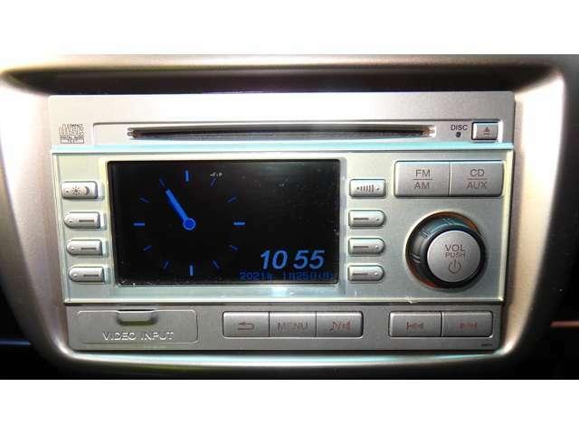 CD再生 AM/FMチューナー