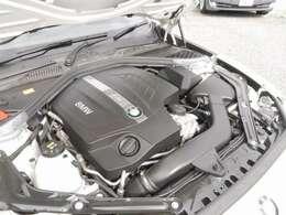 3000cc 直列6気筒 Mツインパワーターボエンジン 370馬力(カタログ値) 車重1580kgの軽量ボディとの相性バッチリ!