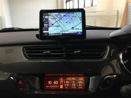 ◆社外ポータブルナビ(CN-G500D)◆純正CDデッキ(Bluetooth/AUX/USB)◆フロントリアコーナーセンサー